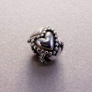 "Authentic Pandora ""Everlasting Love"" Charm"